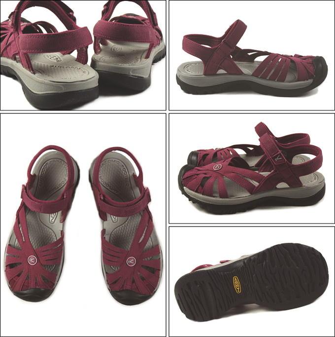 Sneakersoko-kids  Kean KEEN Rose Sandal Rose sandals beat red ...