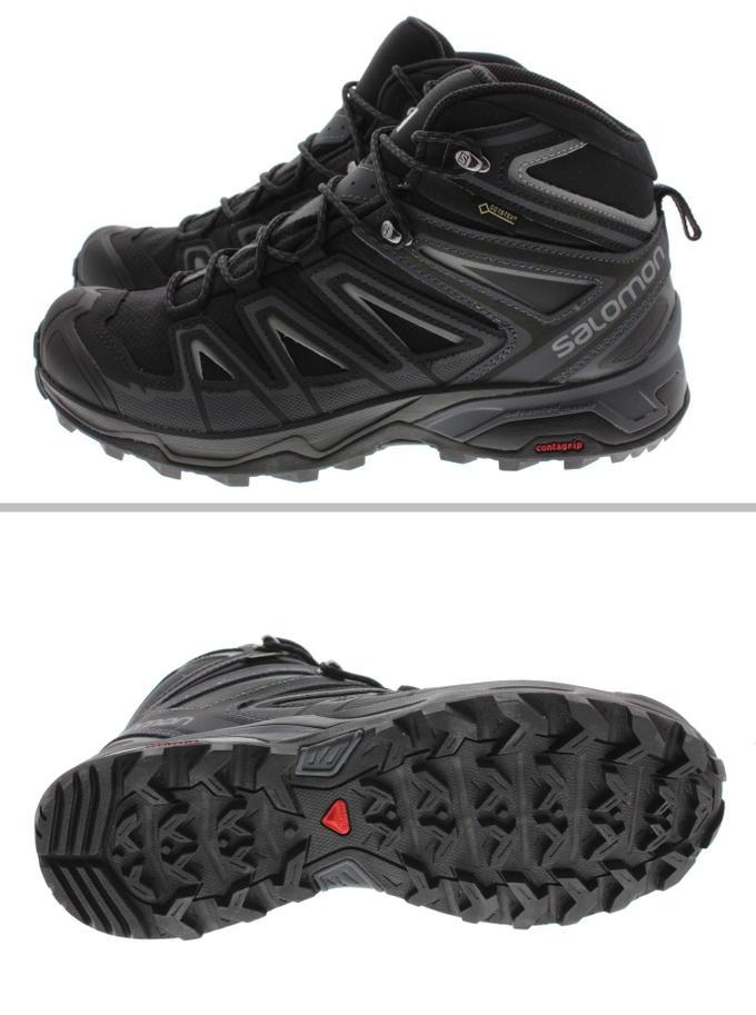 salomon men's x ultra 3 mid gtx shoe review leather black