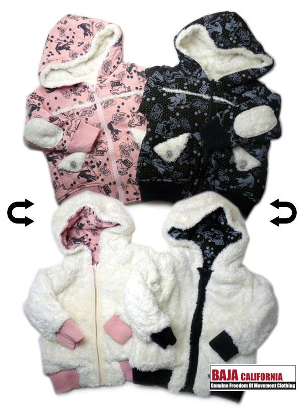 [BAJA バハ 子供服][2011秋冬]ボアジャケット