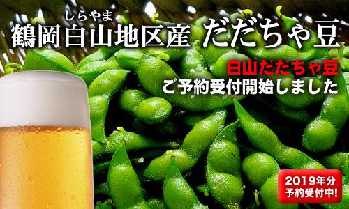 2019 本場鶴岡産 白山だだちゃ豆