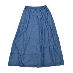 デニムロングスカート 2色