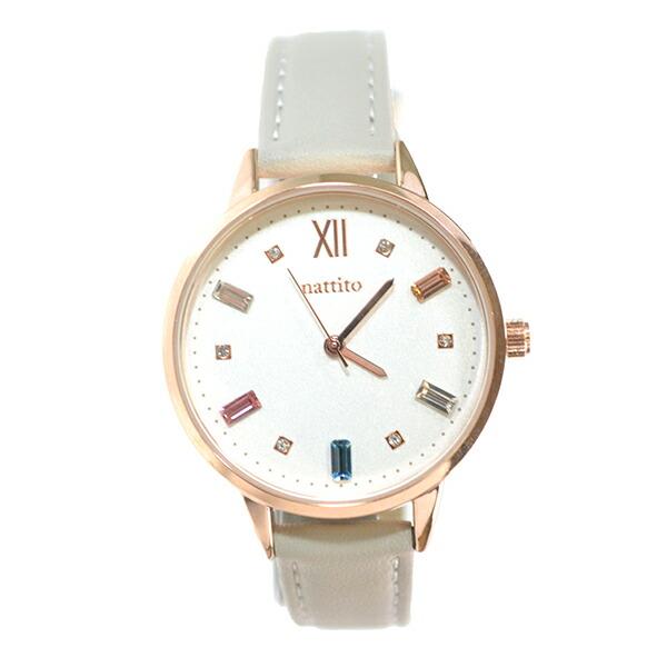 スワロフスキー ストーン付き腕時計・ビジュー