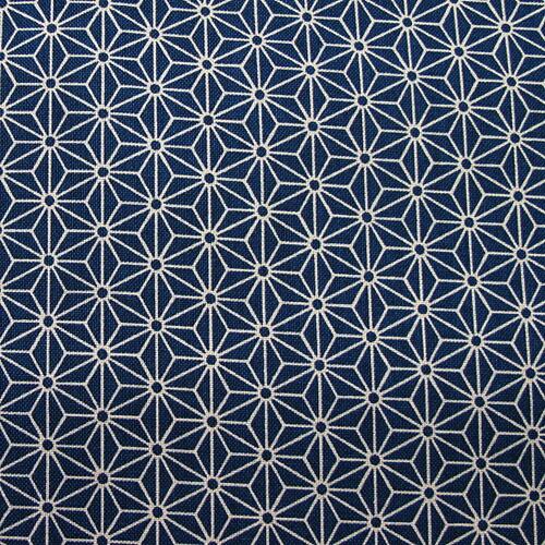 和柄生地シンプル麻の葉柄紺和調和柄布 【楽天市場】和柄生地 シンプル麻の葉柄 紺 和調 和柄 布