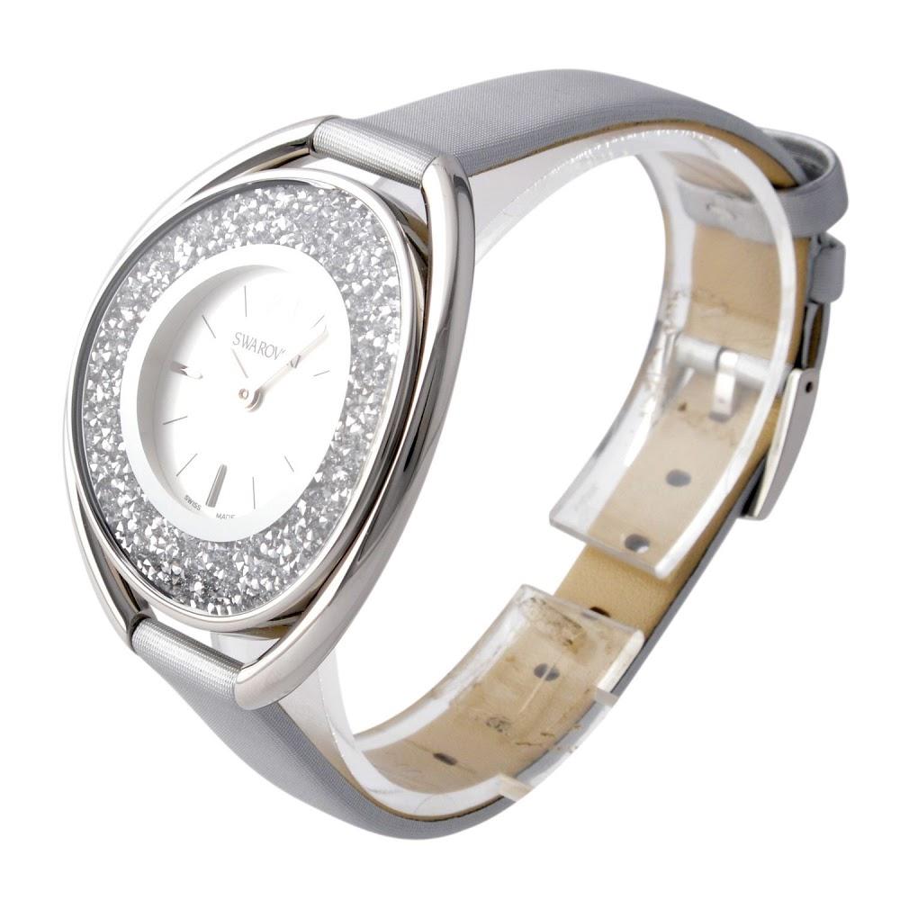 スワロフスキー SWAROVSKI 5263907 レディース 腕時計 Crystalline Oval (クリスタルライン・オーバル)