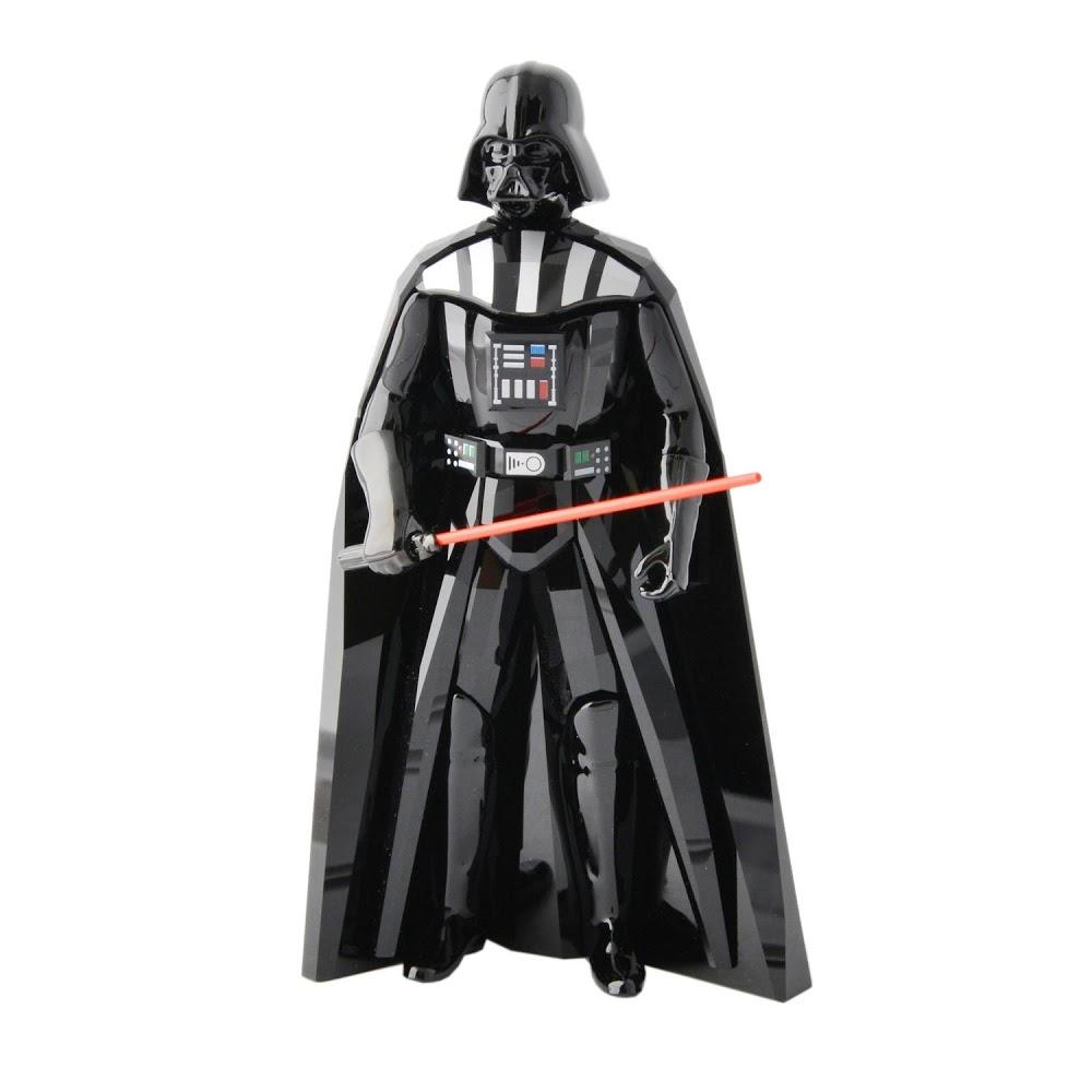 スワロフスキー SWAROVSKI 5379499 ディズニー スターウォーズ  「ダース・ベーダー」 クリスタル フィギュア 置物 Disney Star Wars Darth Vader