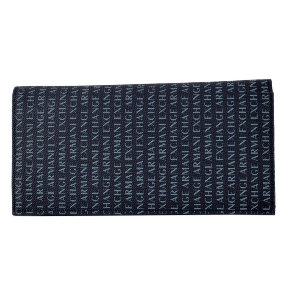 アルマーニ エクスチェンジ ARMANI EXCHANGE 958099 CC230 37735 ロゴプリント柄 小銭入れ付 二つ折り長財布