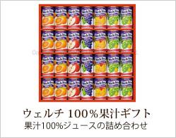 ウェルチ果汁ギフト