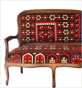 キリム木製家具