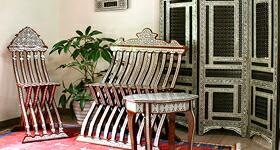 エジプト螺鈿家具