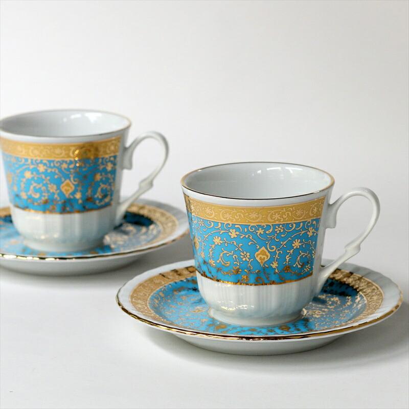 トルココーヒーカップ&ソーサー2客セット