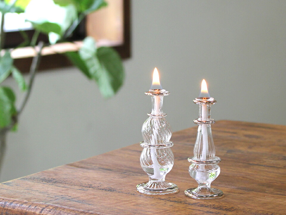エジプト香水瓶オイルランプセット光