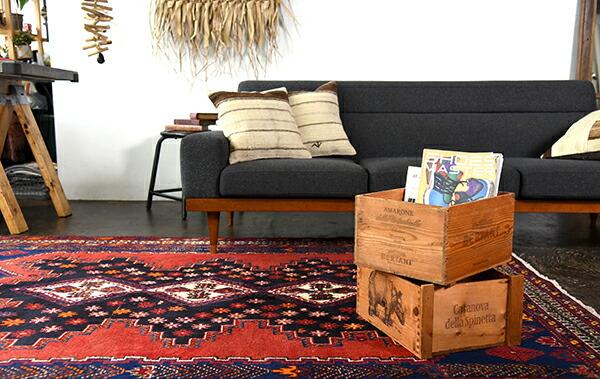 部族絨毯トライバルラグ