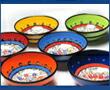 トルコの手書き陶器