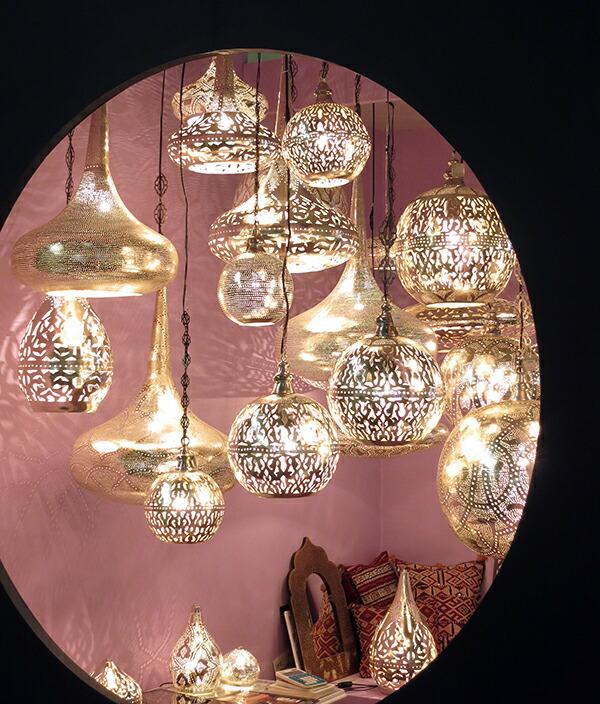 エジプシャン・メタルシェードランプ