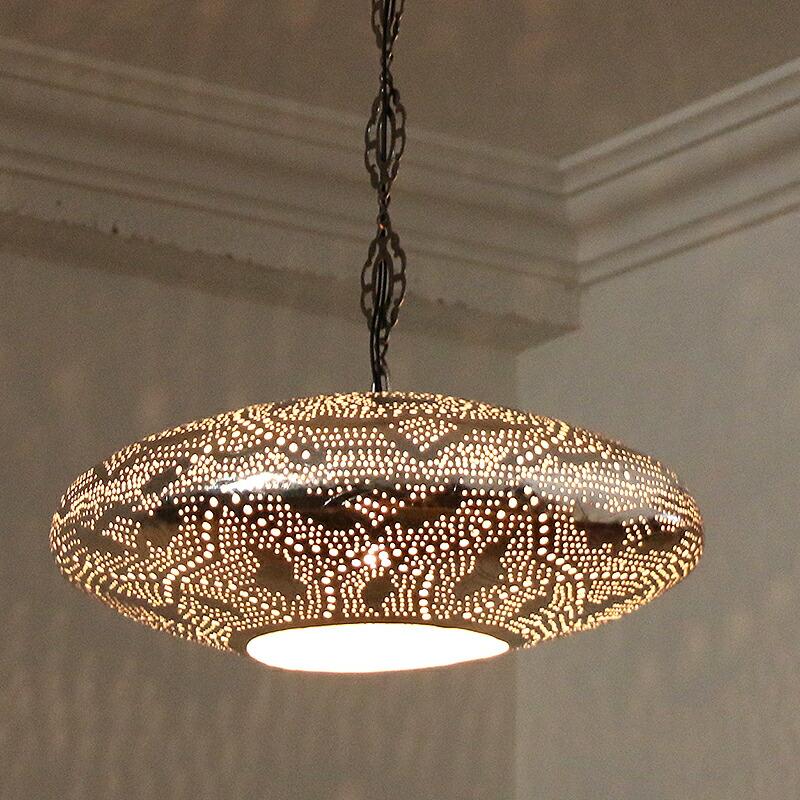 Galatabazaar rakuten global market metal shade and handmade egyptian metal pendant lamp egyptian brass lamps pendant light cmufo silver color lotus mozeypictures Choice Image