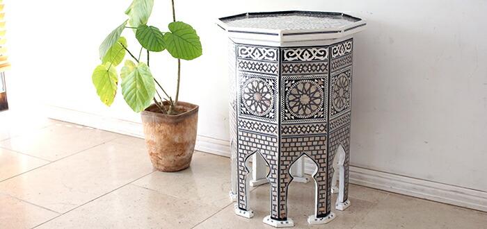 Mother of Pearl エジプト・アラベスクの螺鈿家具