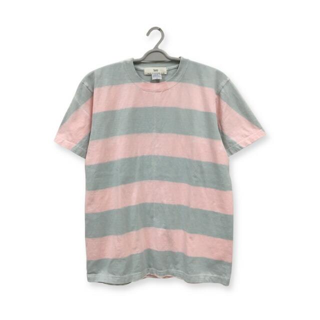 染め ボーダーTシャツ:TS-535