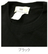 後染めTシャツブラック