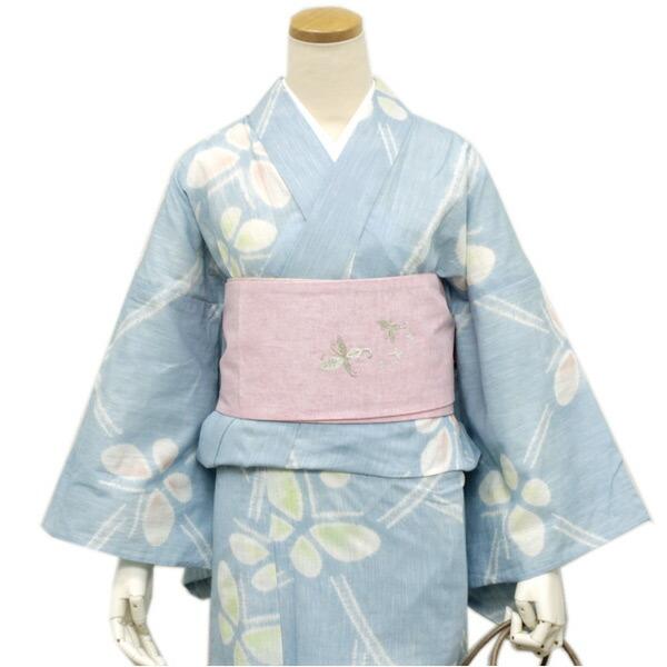 京の帽子絞り浴衣