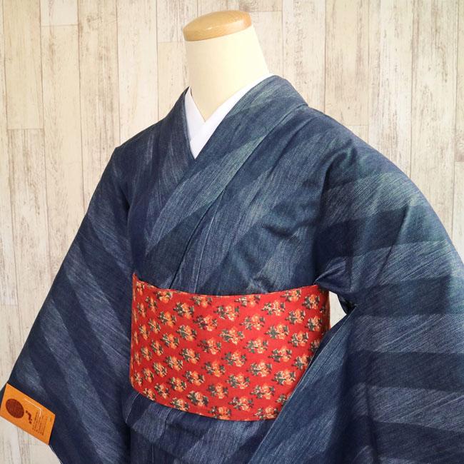 世界品質♪岡山デニムの着物