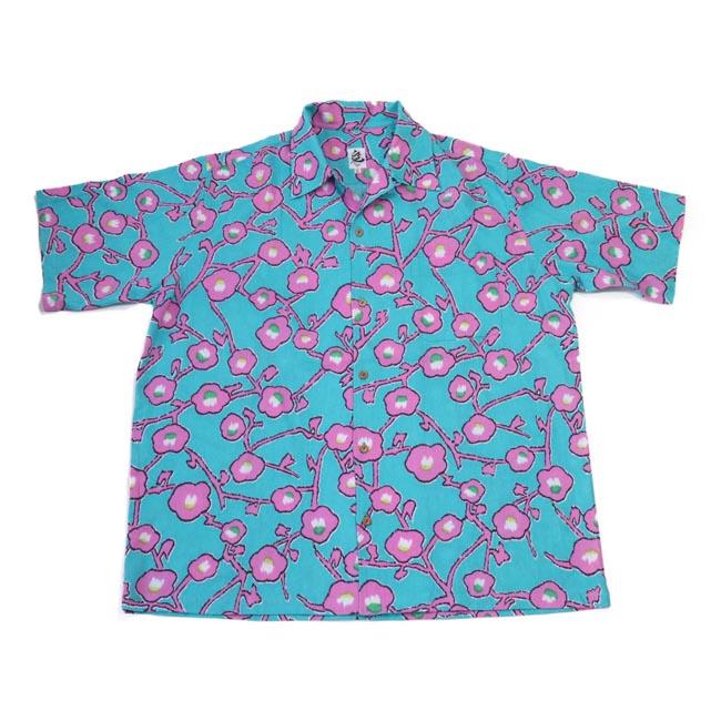 京都の着物ブランド発!アロハシャツ