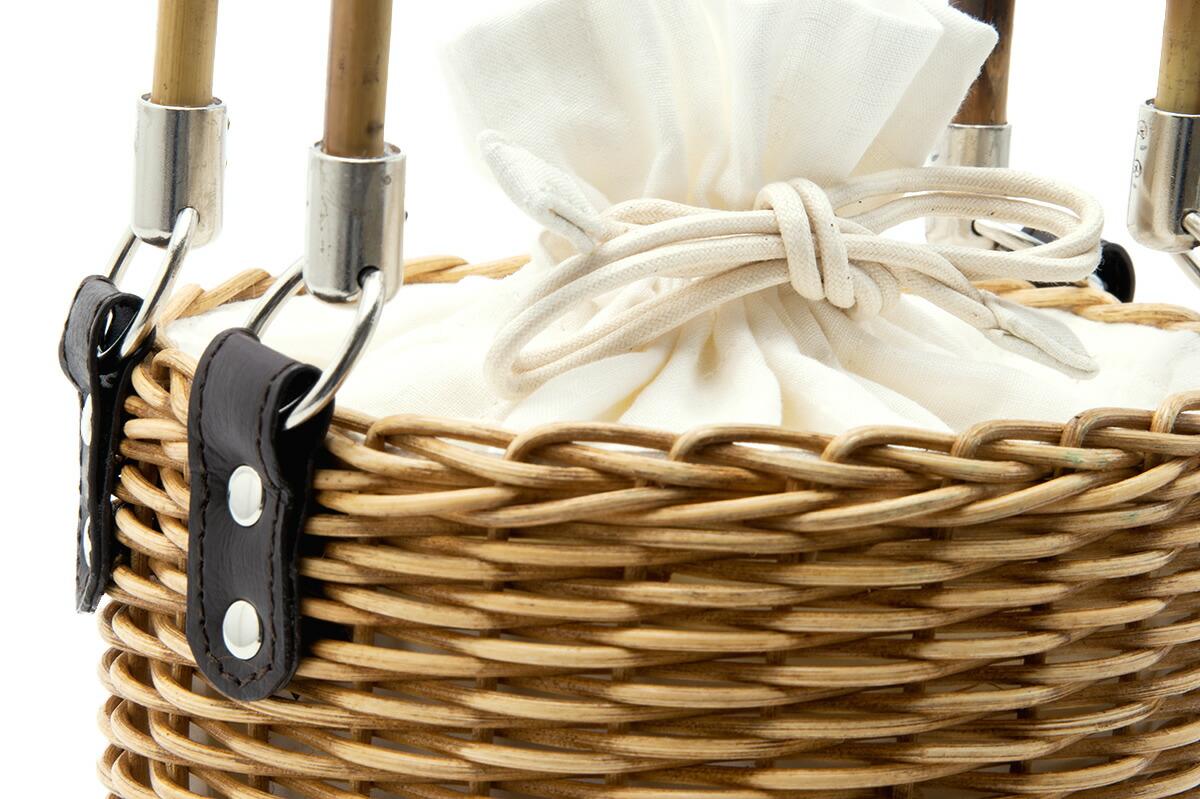 浴衣や夏着物におすすめなカゴ巾着バッグ