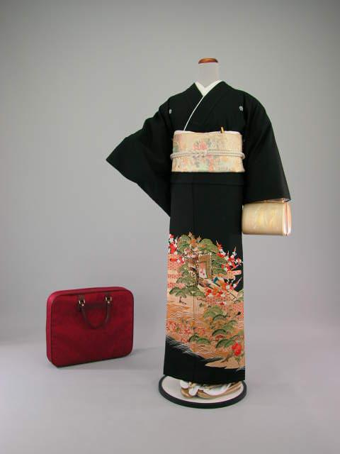黒留袖レンタルNo.112レンタル留袖