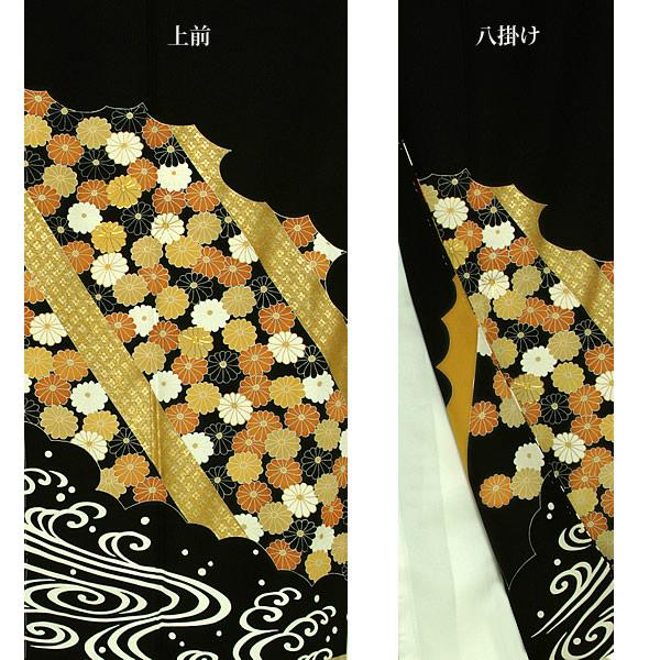 黒留袖 礼装 正絹着物