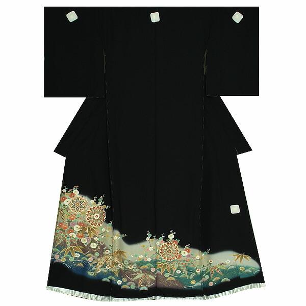 黒留袖 未仕立て 単品 正絹着物