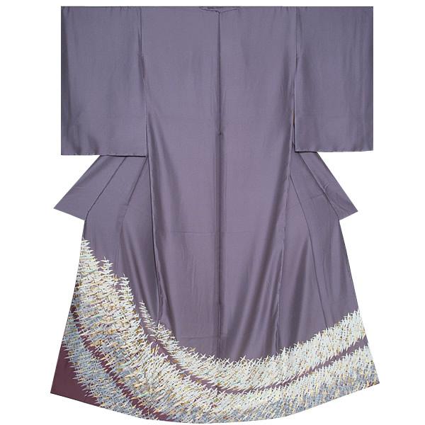 色留袖 未仕立て 単品 正絹着物