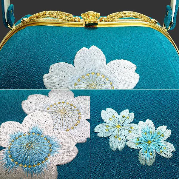 草履バッグセット 成人式、結婚式に 刺繍バッグ