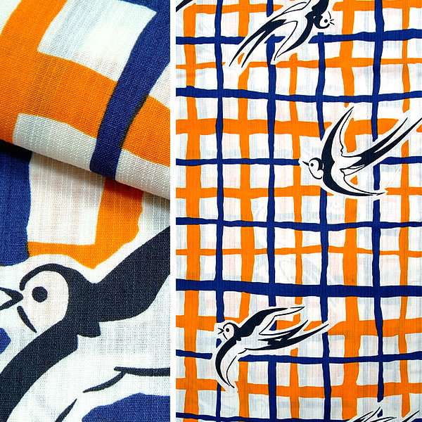 TLサイズ 京都きもの町オリジナル 綿浴衣