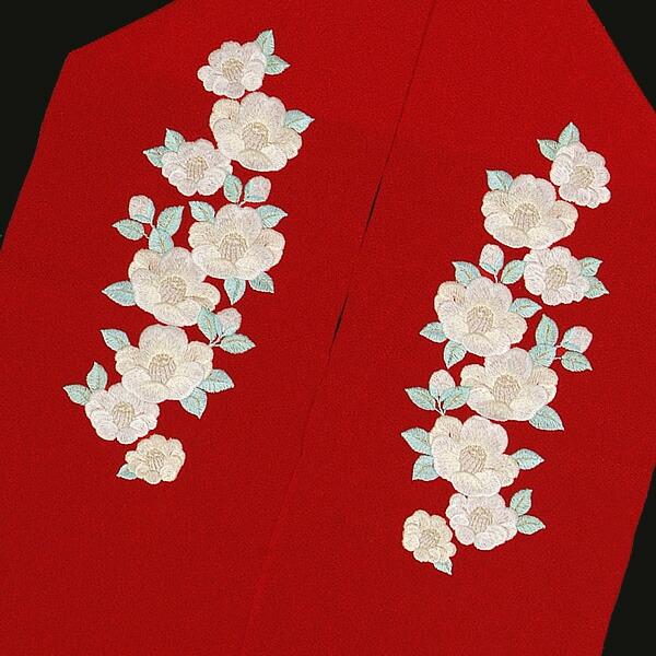 刺繍半襟 振袖衿 結婚式