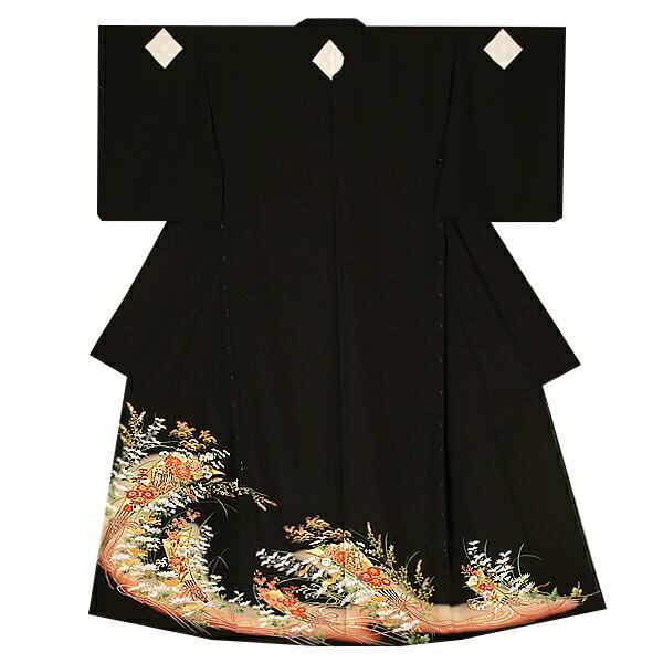 黒留袖単品 第一礼装 本金箔使用