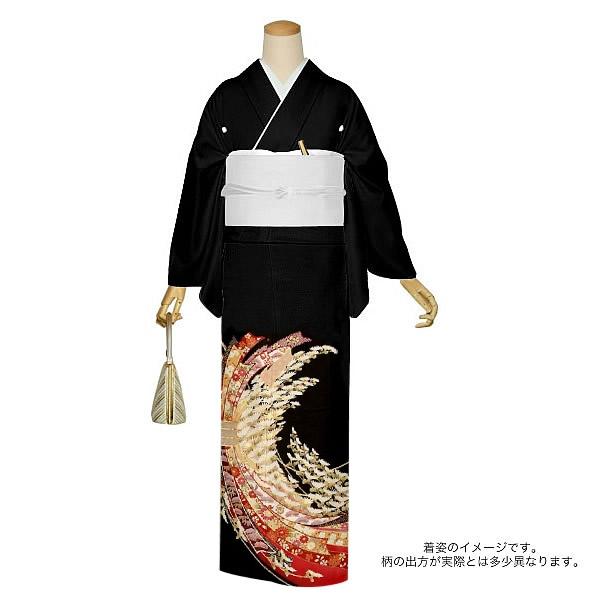 京友禅 正絹黒留袖 フォーマル