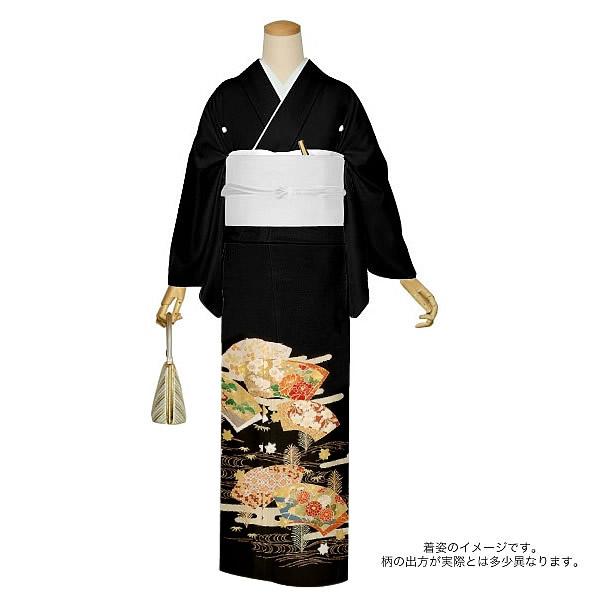 正絹黒留袖 正絹着物 フォーマル