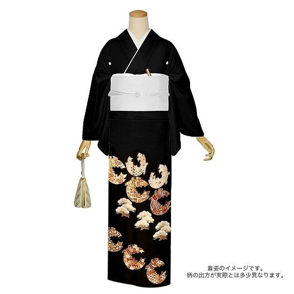 京友禅協議会受賞柄 正絹黒留袖 フォーマル