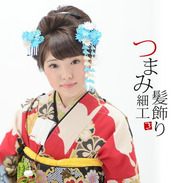 髪飾り2点セット 卒業式の袴にも 髪飾りセット