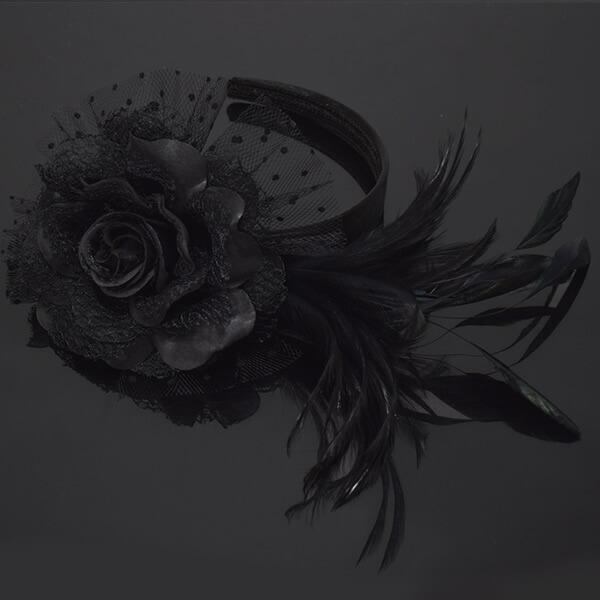 お花髪飾り カチューシャ フラワー