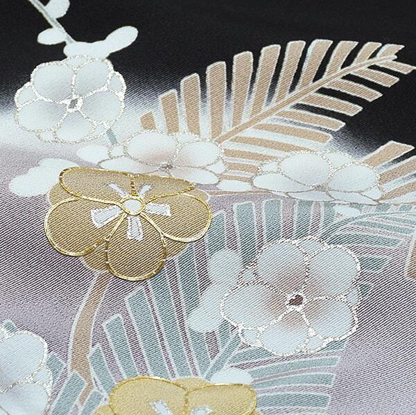 紋入れ代、袋帯仕立て代込み 正絹着物 高級プレタ