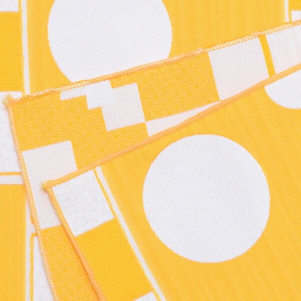 帯37:兵児帯 黄幾何学
