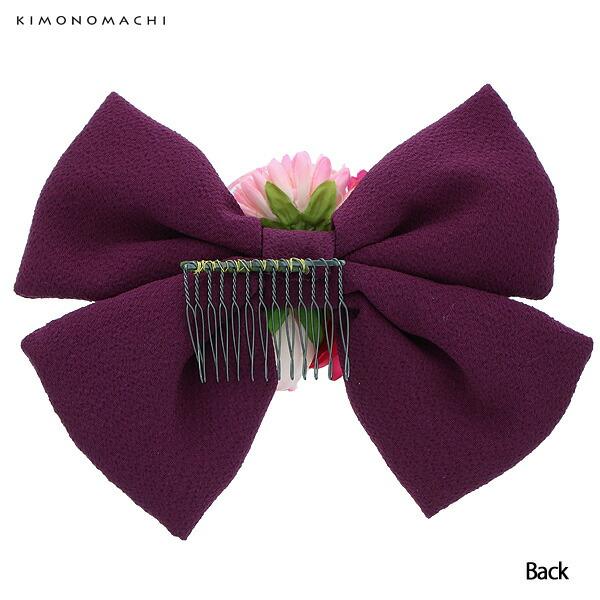 振袖髪飾り お花髪飾り コーム髪飾り