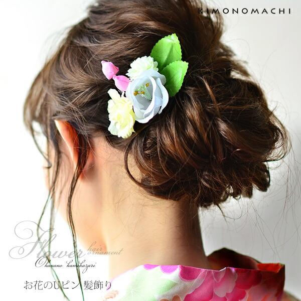 髪飾り フラワー髪飾り お花髪飾り