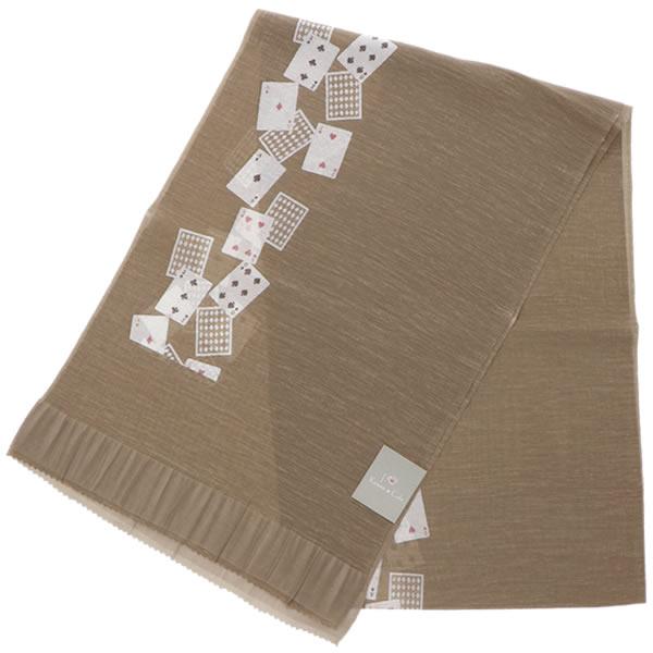 和装小物 洒落帯揚げ 小紋、紬に