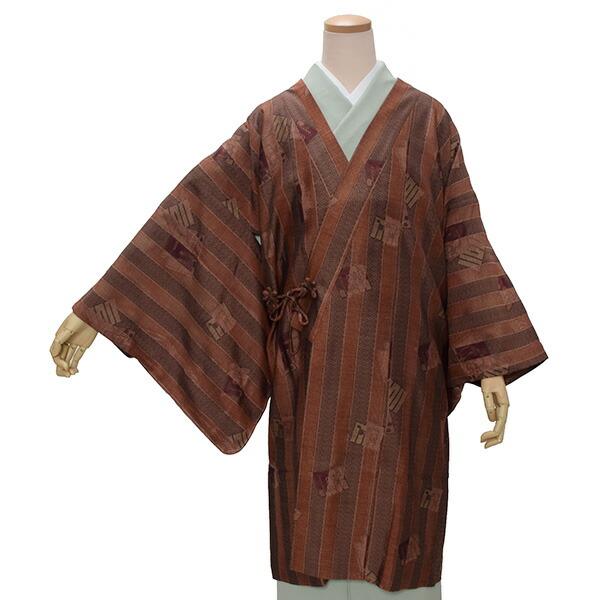 着物衿コート 正絹コート 洒落コート