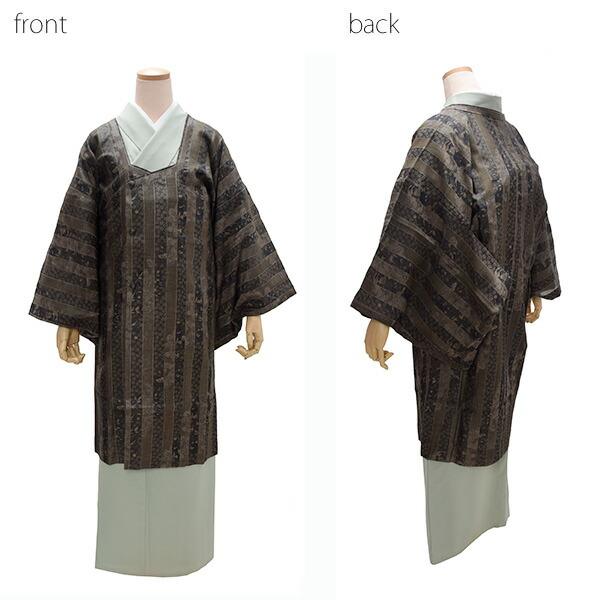 菱衿コート 和装コート 撥水加工済