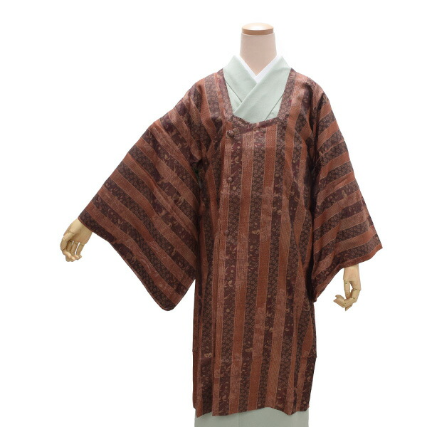 菱衿コート 正絹コート 洒落コート