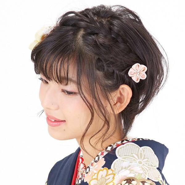 つまみ細工髪飾り お花髪飾り 髪飾りセット