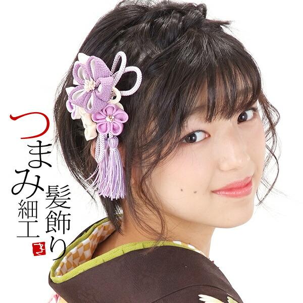 髪飾り2点セット 振袖髪飾り つまみ細工髪飾り