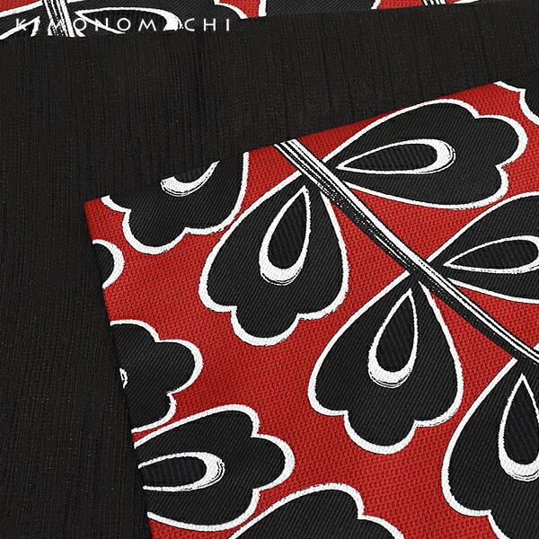 京袋帯 化繊帯 ポリエステル名古屋帯